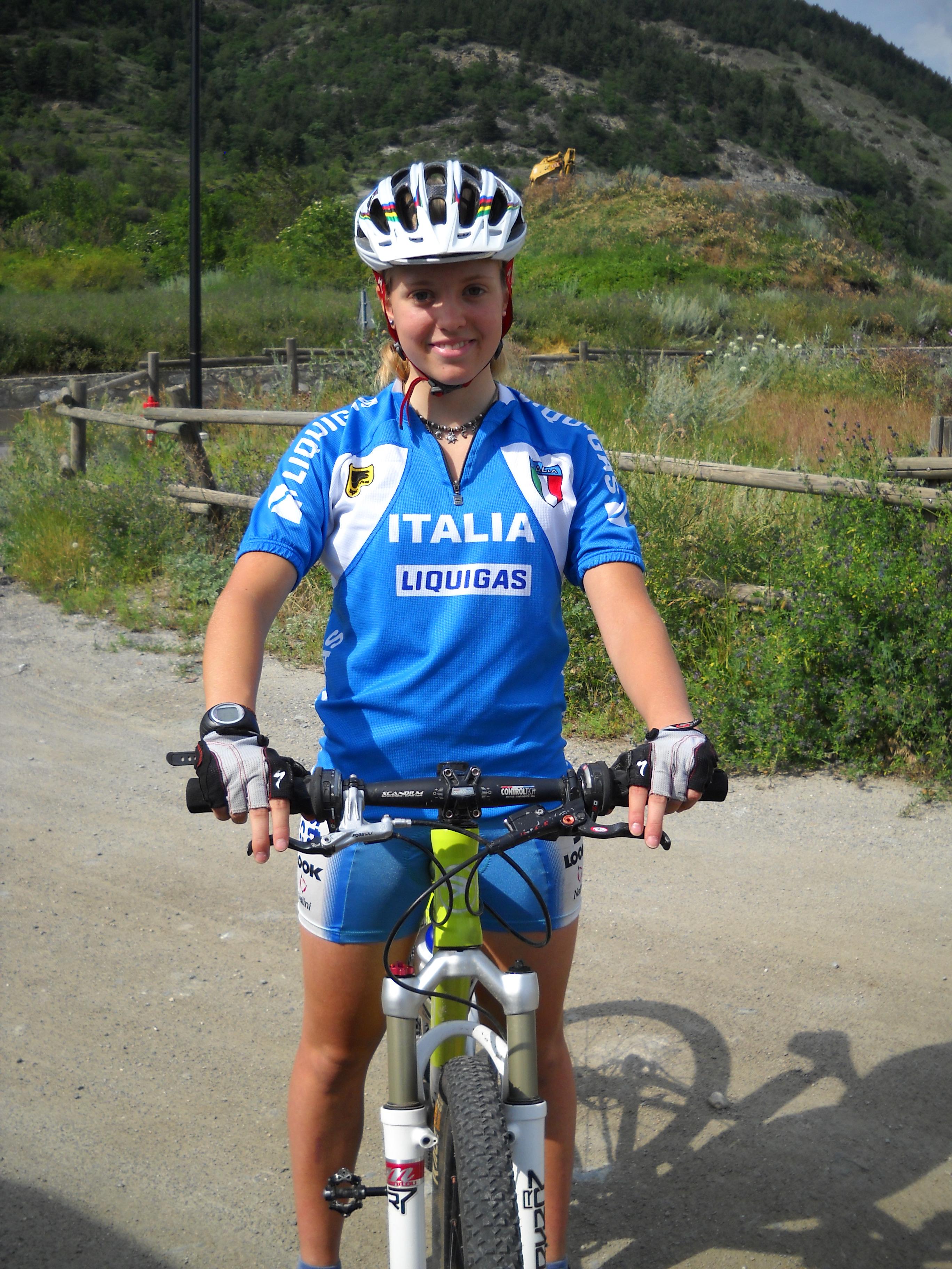 Emilie Collomb ottiene il secondo posto ai CAMPIONATI ITALIANI di MONTOGGIO