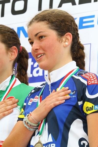 Al Campionato Italiano giovanile a Courmayeur Chiara Doveri è terza e si piazza 2 con la staffetta CR Valle d'Aosta al Campionato Italiano Staffetta a Pila